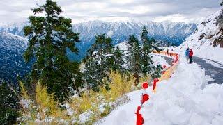 台灣 高山風景 雪景 [合歡山] 賞雪去