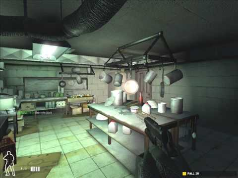 Plano de Food Wall Restaurant - SWAT 4