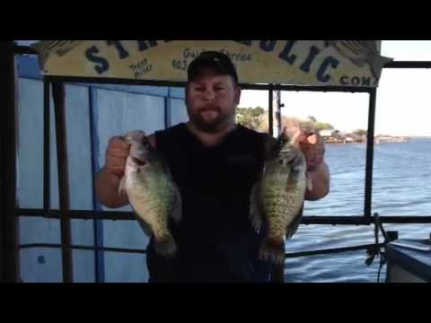 Crappie Fishing Docks!  NEW  Uncle Ricks Duck Cove Marina
