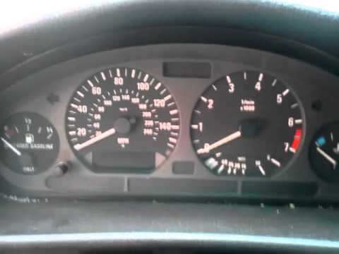 BMW E36. How to Reset Oil/Inspection Indicator