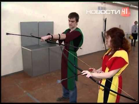 Видео как научиться стрелять из лука
