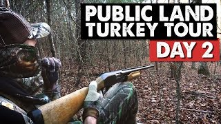 THIS IS GOING TO BE A CHALLENGE! - Public Land Turkey Tour Day 2