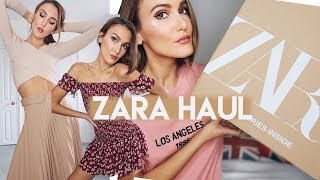 ZARA SPRING HAUL & TRY ON MARCH | SPRING OUTFITS | Blaise Dyer