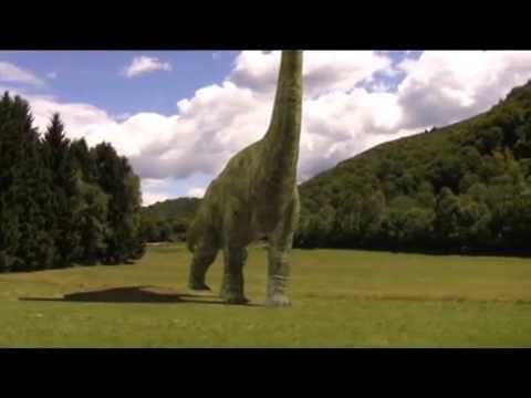 CGI Jurassic Park III Brachiosaurus tutorial (animation 3D Studio Max compositing After Effects)