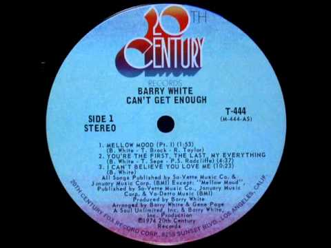 Barry White Youre My First My Last My Everything