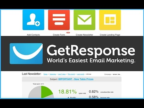 Getting started with GetResponse | GetResponse World's Easiest Email Marketing
