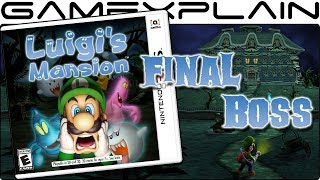 Luigi's Mansion 3DS - Final Boss + Ending (A-Rank Mansion)