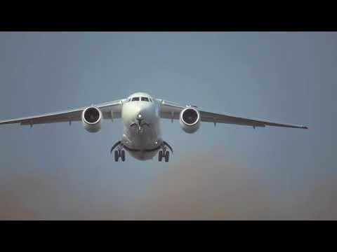 Antonov AN-148/158 promotion Ан-148 An-148 САМОЛЕТ avion russie plane russia Saratov Airlines