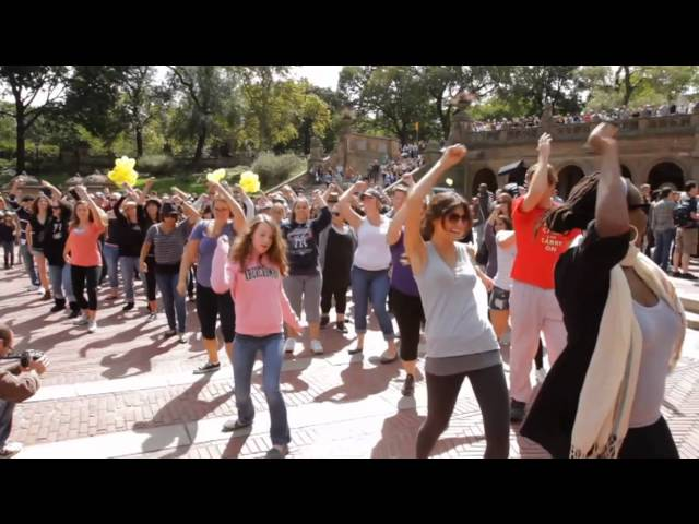 NYC Birthday Flash Mob