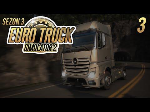 Luźna jazda w Euro Truck Simulator 2 #3 - SEZON 3 - Zakładamy firme ;) /w Gabi