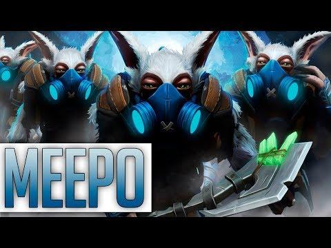 100% ПОРАЖЕНИЕ ? MEEPO ПОМОЖЕТ ВЫИГРАТЬ! | MEEPO DOTA 2