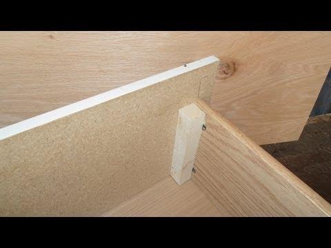 Carpintería Como arreglar un cajon