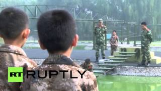 China: Children sent to military camps to get rid of internet addiction