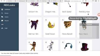 LEAKED ITEMS FOR NEW ROBLOX HOLIDAY MAGIC EVENT :O