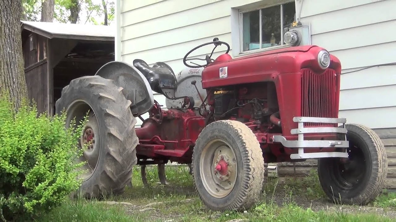1953 Ford Jubilee Tractor 1953 Ford Golden Jubilee Tractor - YouTube
