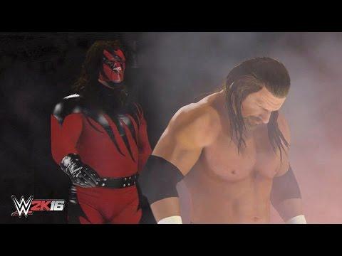 WWE 2K16 Masked Kane Chokeslam Entrance Breakouts & Sneak Attacks!