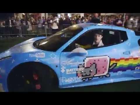 Deadmau5 Ferrari Nyan Nyan Cat Ferrari | Purarri