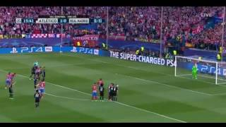 atletico madrid vs real madrid 1-2 match highlights and goals champions league 10/05/2017