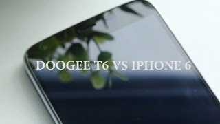 DOOGEE T6 VS IPHONE6:The Charge Speed Between DOOGEE T6 and IPHONE 6
