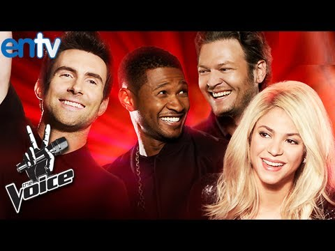The Voice Season 4 Blind Auditions Preview feat. Shakira and Usher - ENTV