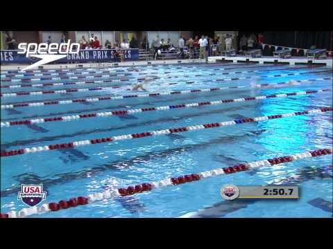 Women's 400m Freestyle C Final - 2012 Columbus Grand Prix