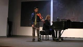 Randy Zhang: Sergei Prokofiev; Violin Concerto No.2 in G minor, Op.63; I. Allegro moderato