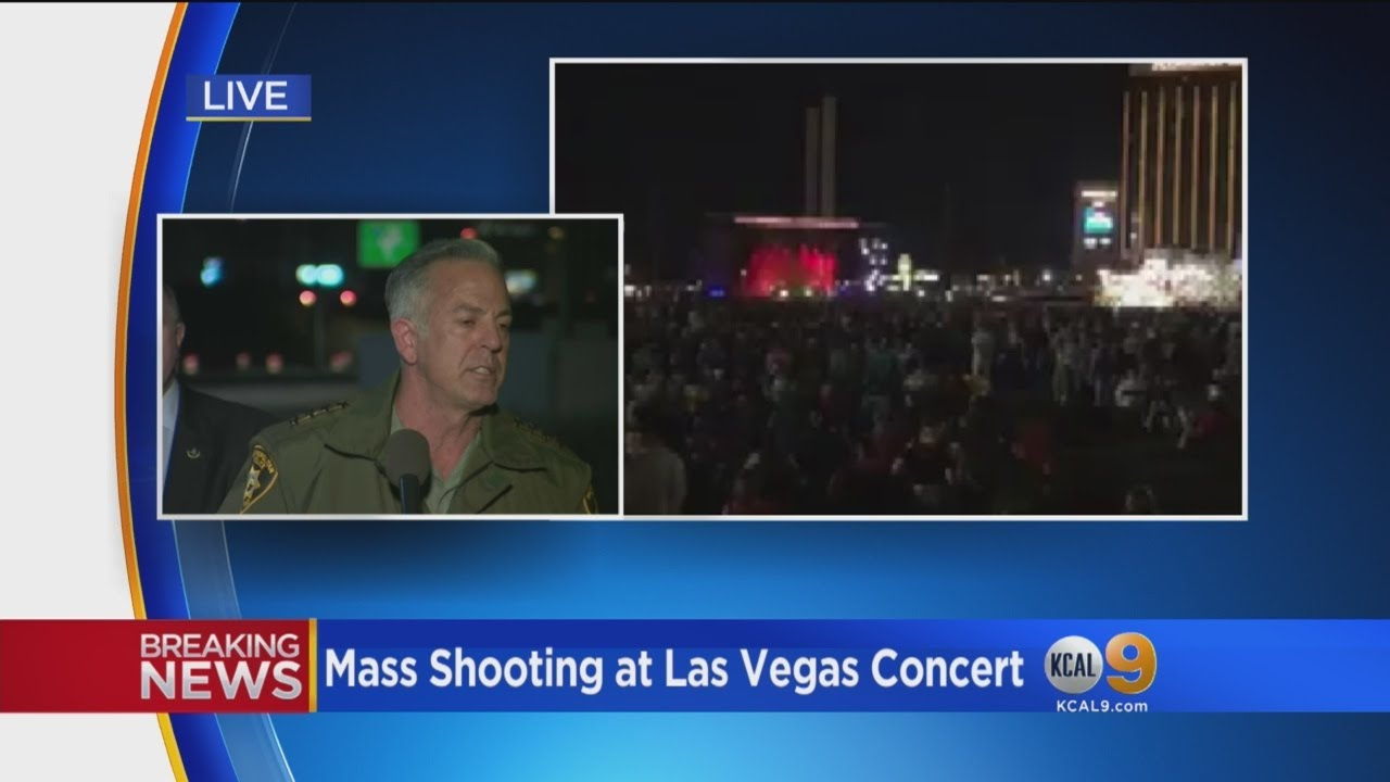 Las Vegas Sheriff Confirms At Least 20 Dead, 100 Injured In Mandalay Bay Shooting