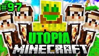 CHAOSFLO44 aus DER STEINZEIT?! - Minecraft Utopia #097 [Deutsch/HD]