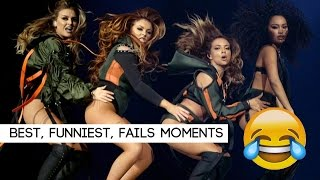 Little Mix - Best, funniest and FAIL moments on the DW Tour | February