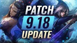 NEW UPDATE: BEST Champions TIER List – League of Legends Patch 9.18