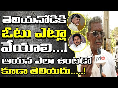 AP Next CM | Mangalagiri Public Comments On Ap Politics | 2019 AP Elections | PDTV News
