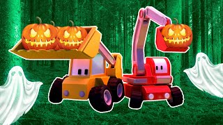 Halloween - Tiny Town: Street Vehicles Ambulance Police Car Fire Truck