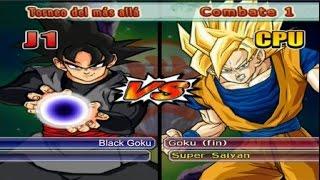 Dragon Ball Z Budokai Tenkaichi 3 - Versión Latino *Torneo del más allá - Black Goku