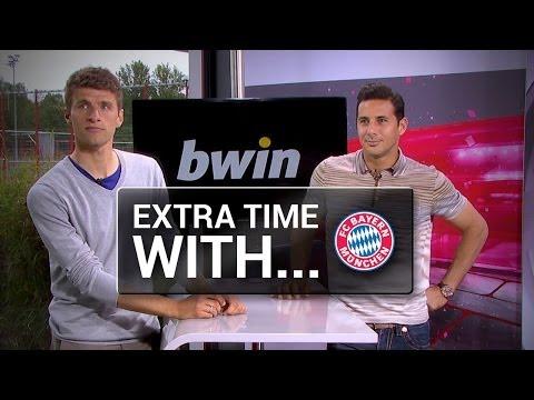 Extra Time mit ... Thomas Müller und Claudio Pizarro vom FC Bayern