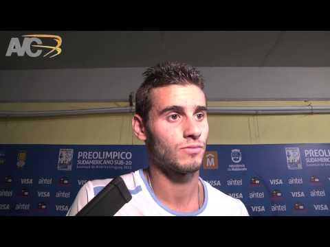 Hablamos con Gastón Pereiro post partido con Chile -- Uruguay Sub 20 - Avance Contenidos