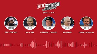 SPEAK FOR YOURSELF Audio Podcast (8.7.19) with Marcellus Wiley, Jason Whitlock | SPEAK FOR YOURSELF