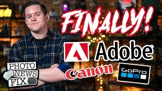 ADOBE Lightroom FINALLY Moved THIS Slider! CANON's 120MP Sensor & GoPro Goes CHEAP | Photo News Fix