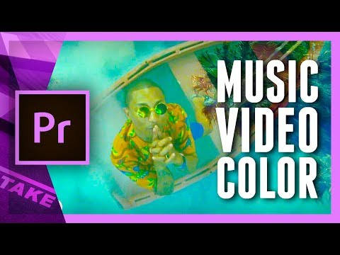 MUSIC VIDEO Color Effects In Premiere Pro (from CALVIN HARRIS - Feels) | Cinecom.net