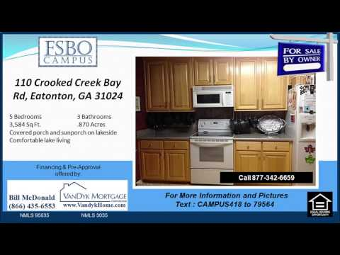 110 Crooked Creek Bay Rd Eatonton GA 31024