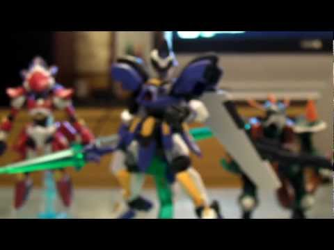 Level 5 / Bandai : Danball Senki - LBX-10/11/12 Best Team Set ダンボール戦機 Review