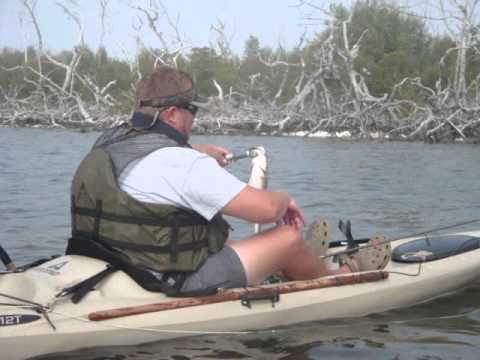 Kayak Fishing Pine Island Florida
