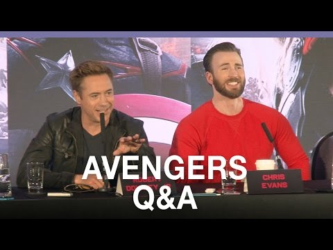 Avengers: Age Of Ultron - European Press Conference In Full