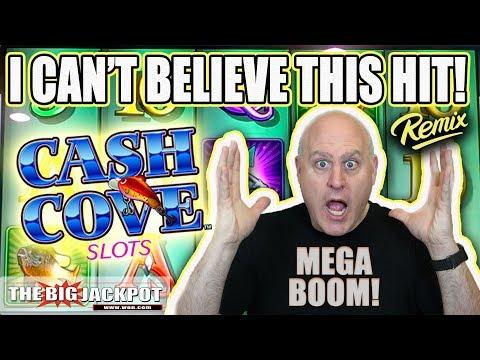 My BIGGEST Win Ever on Cash Cove! 💥Mega Jackpot! | The Big Jackpot