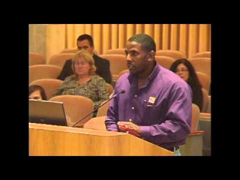 Public Comments by Josh Willis, SEIU - Orlando Budget Hearing