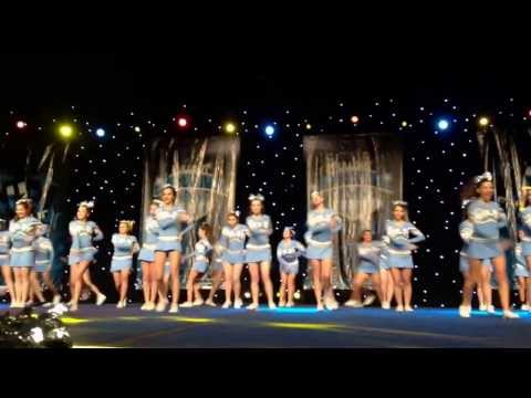 Academy of Our Lady of Peace cheer competition 2014