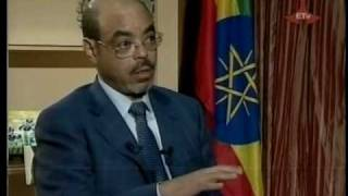 PM Meles Zenawi Interview with Egyptian TV on Nile Sharing - Part 1 of 4