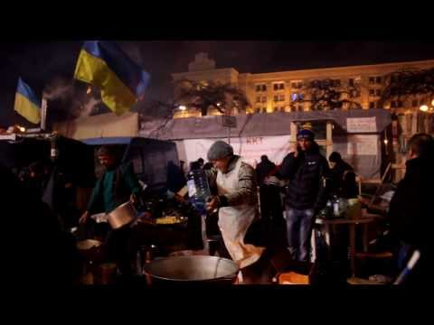 Как живут люди на ЕвроМайдане. 15.12.13. #Євромайдан