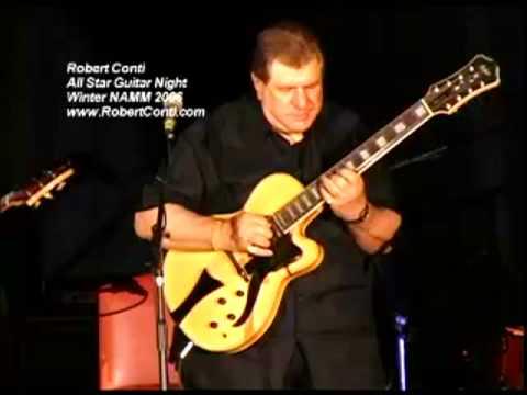 Robert Conti @ All Star Guitar Night