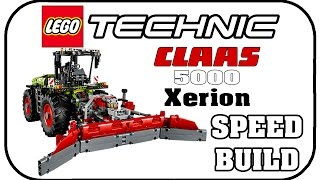 LEGO TECHNIC 42054 - Class Xerion 5000 Track VC ★ Lego Speed Build Test Vorstellung
