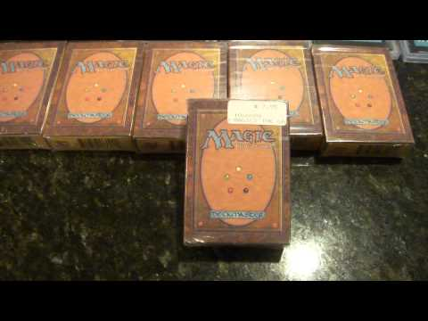 VINTAGE MAGIC REVIEWS   FACTORY SEALED MTG MAGIC: THE GATHERING BETA STARTER DECKS